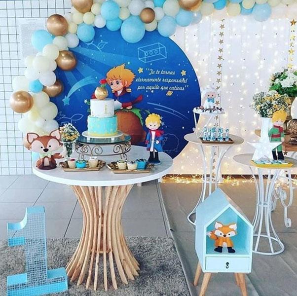 5 decoracoes festa infantil painel redondo