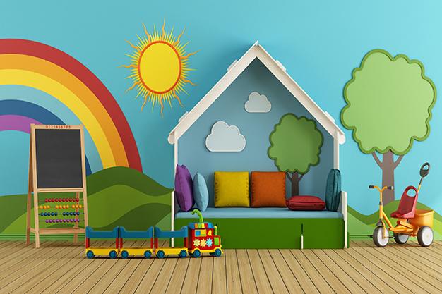 Espaço kids: ideias para usar um ambiente da festa como brinquedoteca