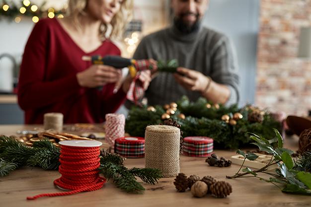 Festa de natal: como fazer uma decoração gastando pouco?